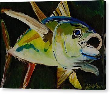 Yellow Fin Tuna Canvas Print