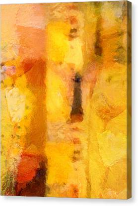 Yellow Garden Canvas Print by Lutz Baar