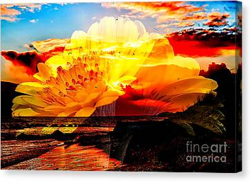 Yellow Canvas Print by Marvin Blaine