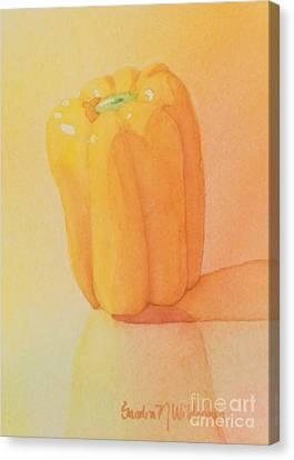 Yellow Pepper Canvas Print