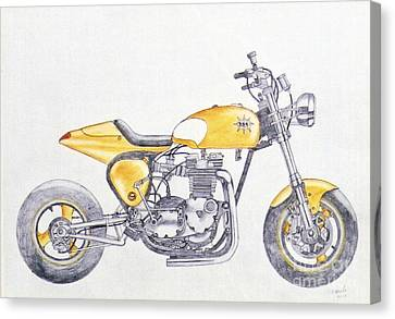 Yellow Peril Canvas Print by Stephen Brooks