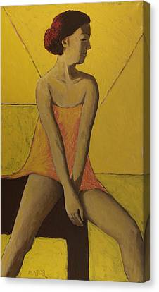 Yellow Room Canvas Print by Clarence Major