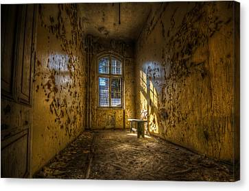 Yellow Room Canvas Print by Nathan Wright