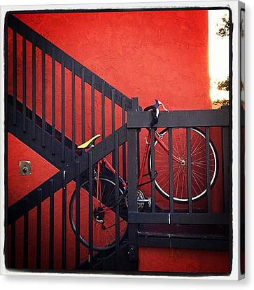 Canvas Print featuring the photograph Yellow Seat by Kevin Bergen