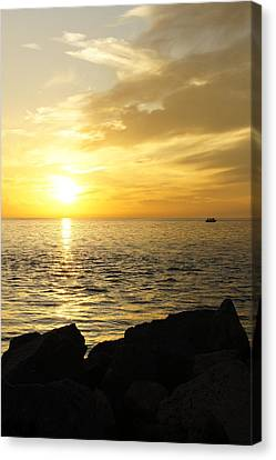 Yellow Sky Canvas Print