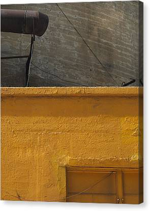Yellow Storefront Canvas Print