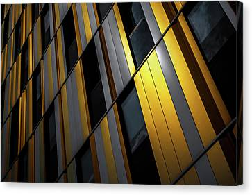 Yellow Wall Canvas Print by Gilbert Claes
