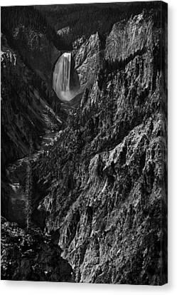Yellowstone Falls Canvas Print by Andrew Soundarajan