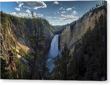 Yellowstone River Lower Falls Canvas Print