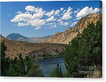 Yellowstone River Overlook Canvas Print by Charles Kozierok