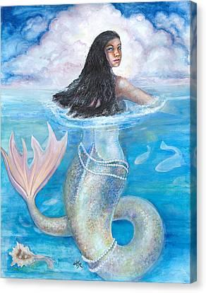 Yemaja Canvas Print by Sophia Shultz