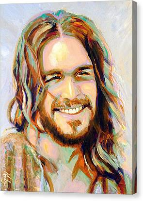Yeshua Canvas Print by Steve Gamba