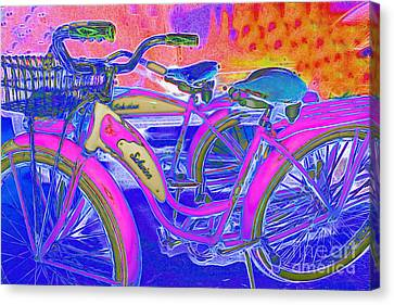 Kitschy Canvas Print - Yesterday It Seemed Life Was So Wonderful 5d25760 P45 by Wingsdomain Art and Photography
