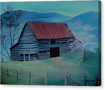 Yesteryear Canvas Print by Glenda Barrett