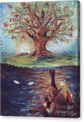 Yggdrasil - The Last Refuge Canvas Print by Samantha Geernaert