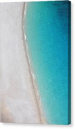 Yin Yang Coast Canvas Print