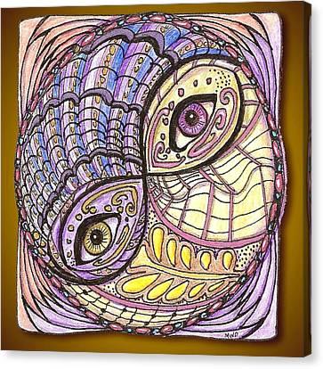 Yin Yang Canvas Print by Melinda DeMent
