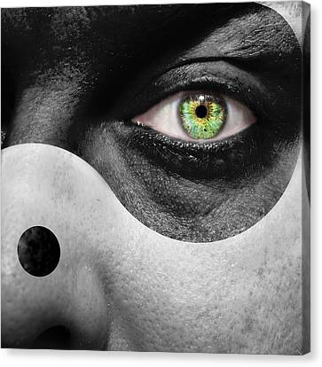 Opposing Forces Canvas Print - Yin Yang by Semmick Photo