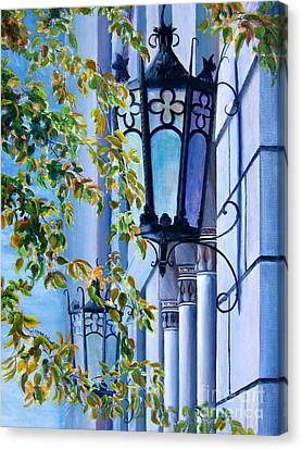 Ymca Building Downtown Shreveport Louisiana Canvas Print by Lenora  De Lude