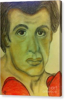 Yo Adrian Canvas Print