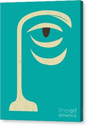 Yogi Canvas Print by Jazzberry Blue