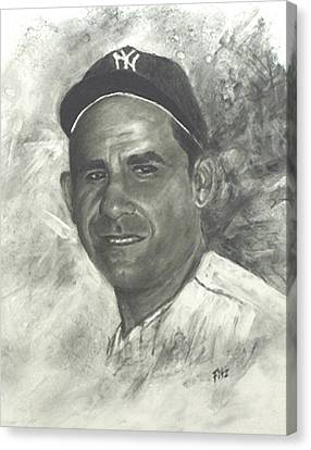 Yogi Canvas Print by Rick Fitzsimons