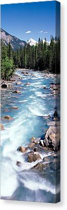 Yoho River, British Columbia, Canada Canvas Print by Panoramic Images