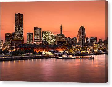 Yokohama 02 Canvas Print by Tom Uhlenberg
