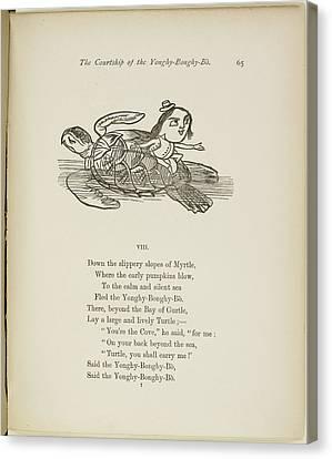 Yonghy-bonghy-bo Canvas Print by British Library