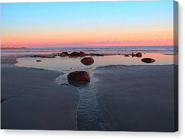 York Beach Canvas Print by Andrea Galiffi