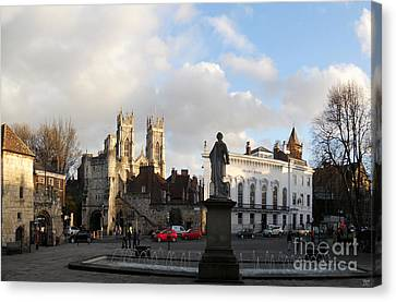 York Gallery Square Canvas Print by Neil Finnemore