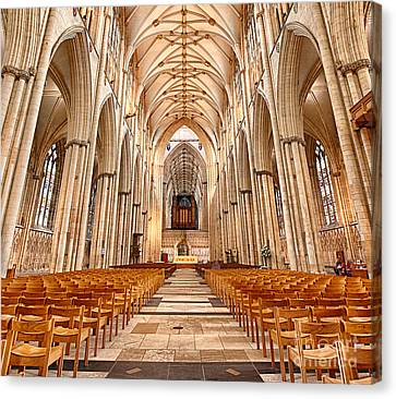 York Minster I Canvas Print by Jack Torcello