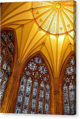 York Minster Canvas Print by Jody Partin