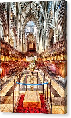 York Minster V Canvas Print by Jack Torcello
