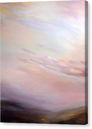 Yorkshire Moors In A Mist Canvas Print