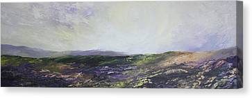 Yorkshire Moors Canvas Print