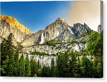 Early Morning Canvas Print - Yosemite Falls  by Az Jackson
