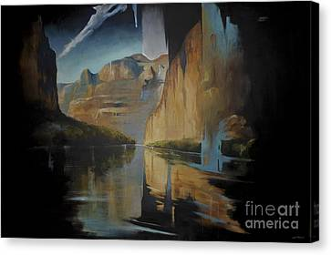 Yosemite Canvas Print by Lin Petershagen