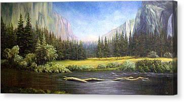 Yosemite Canvas Print by Loxi Sibley