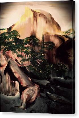 Yosemite Canvas Print by Magdalena Silbertson