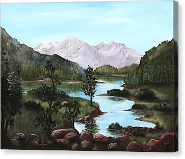Yosemite Meadow Canvas Print by Anastasiya Malakhova