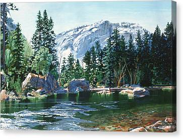 Yosemite Mirror Lake Canvas Print