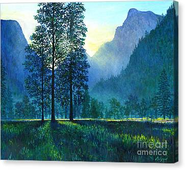 Yosemite Morning  Canvas Print