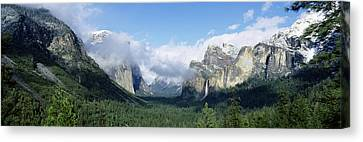 Yosemite National Park Ca Usa Canvas Print by Panoramic Images