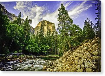 Yosemite National Park El Capitan Canvas Print