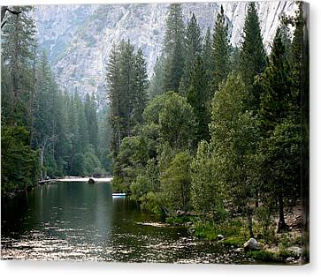 Yosemite National Park Canvas Print by Laurel Powell
