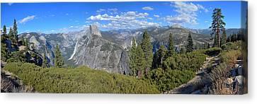 Yosemite Panorama Canvas Print by Paul Van Baardwijk