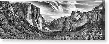 Yosemite Panoramic Canvas Print