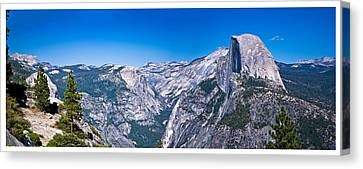 Yosemite Valley From Glacier Point Canvas Print