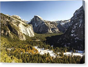 Yosemite Valley Canvas Print by Philip Tolok